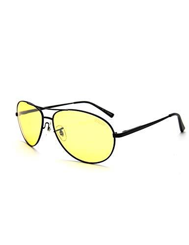 Duco occhiali per la visione notturna uomo driver 3025y occhiali polarizzati anti-riflesso