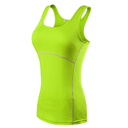 AMURAO Frauen Sommer Sport Schnell trocknend Weste Compress Running Tight Shirt Fitness Yoga Tank Tops -