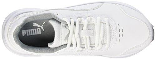 Silver Sl V4 White Descendant Puma Running Femme Blanc xOwZAZfqv