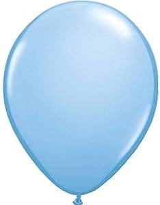 Folat 08116 - Globos metálicos (30 cm, 100 unidades), color azul