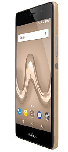 Wiko Tommy 2 LS Smartphone (12,7 cm (5 Zoll) HD, 8MP-Kamera, 5MP Selfie-Kamera, 8GB ROM/1GB RAM, Dual-SIM) gold
