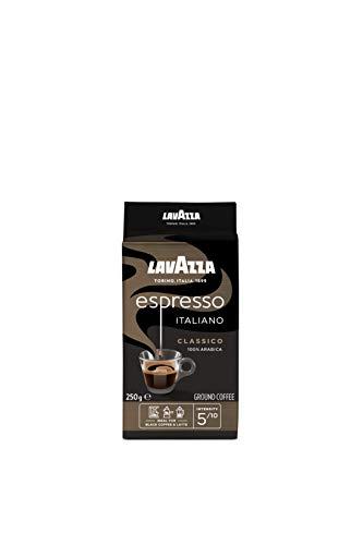 Lavazza Gemahlener Kaffee, Caffè Espresso Italiano, 5er Pack (5 x 250 gr)