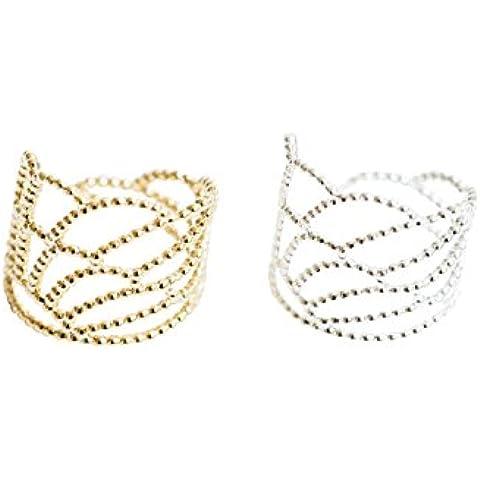 Ali Anelloala anello, piuma anello, unico anello, unisex anello, quotidiano anello, semplice anello, regolabile anelli, impaurito anelli, nocca anello, midi anello nocca anello, impilabile a