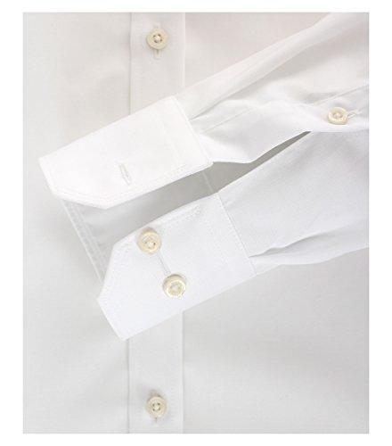 Michaelax-Fashion-Trade -  Camicia classiche  - Basic - Classico  - Maniche lunghe  - Uomo White - Weiß (0)