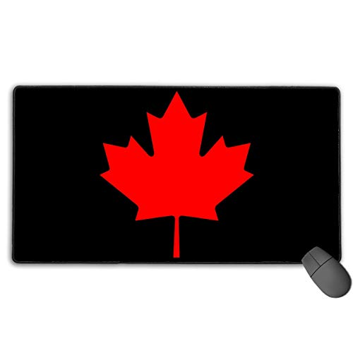 liulishuan Extended Large Gaming Mouse Pad/Mat, Canada Maple Leaf Custom Mouse Pads with Non-Slip Rubber Base for Typist Office, Durable Stitched Edges Fashion6 - Custom Beanie Hüte