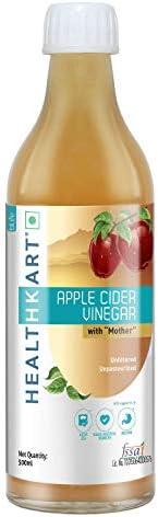 Healthkart Apple Cider Vinegar with Mother (Unflavored, 500ml)