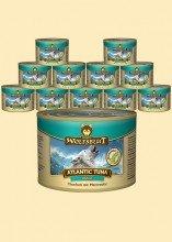 Wolfsblut Atlantic Tuna Adult Nassfutter für Hunde mit Thunfisch mit Meeressalat (6 x 200g)
