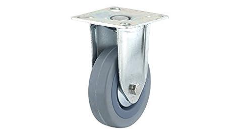 Richelieu Hardware f24815Industrie grau Gummi Caster, feste–215/40,6cm Rad Durchmesser