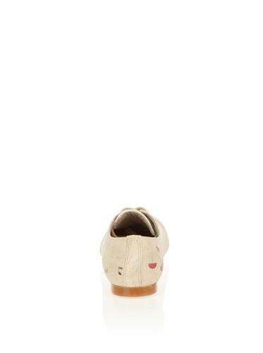 Cute Paws, Scarpe stringate donna beige crema Crema