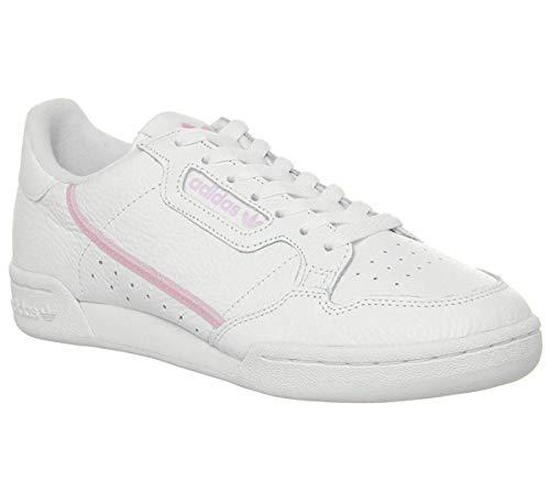 adidas Damen Continental 80 W Fitnessschuhe, Mehrfarbig (Ftwbla/Rosaut/Ros Cl A 000), 39 1/3 EU 80 Schuh