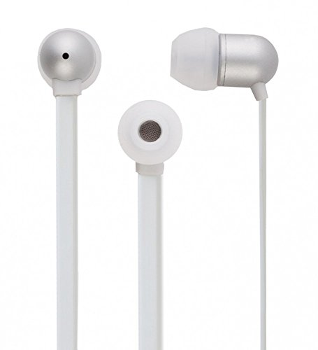 Ubon Universal Earphone UH-297 with High Bass Crystal clear sound treble Quality For Micromax Sony Samsung Apple HTC OPPO Karbonn Xiaomi Lenovo Coolpad Laptop Mobile Tablet Computer with Mic (White) 317qG65m01L