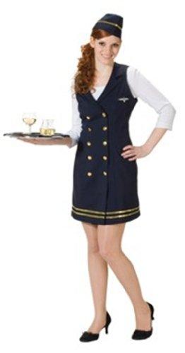 Rubies 1 3392 44 - Stewardess Größe (Kostüme Stewardess Flug)