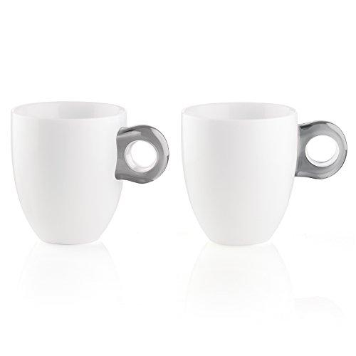 Guzzini Set DE 2 Mugs, SMMA|Porcelain