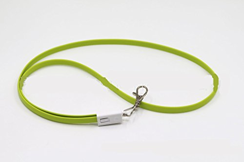 Youji 34 Zoll Top Qualität schwarz Lanyard mit Abzeichen Clip - Ladekabel Kabel für Micro USB Android Phone