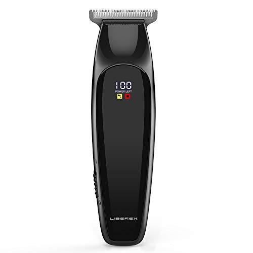 Cortapelos inalámbrico - Liberex Professional Electric Fade Hair Trimmers Set Detailer Close Cutter...