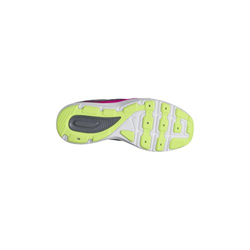 Nike Dual Fusion Lite (Gs) Scarpe Da Corsa, Bambina Grigio (Cool Grey/Vivid Pink-Volt-Wht)