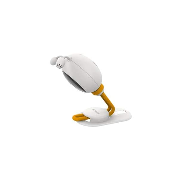 """Wisenet SEW3048 Video Baby Monitor 4.3"""" with Eco Flex Fit Digital Camera. Mother&Baby Best Baby Monitor Gold Award 2019. LCD Wide Screen, Fast Video and Sound Response Wisenet Two-way communication enabled so you can talk to, soothe and relax your little one from anywhere in your home Crystal clear night vision allows you to keep an eye on your little one without any worry in crystal clear quality 7 bedtime music and white noises that will help to soothe your little one and keep them relaxed throughout the night 7"""