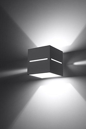 Bauhaus Wandleuchte (Bauhaus, Rechteckiger Schirm) Innenlampe Hotellampe Flurleuchte Wandlampe