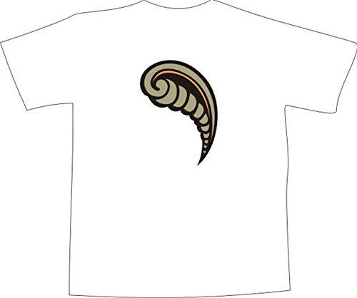 T-Shirt F1071 Schönes T-Shirt mit farbigem Brustaufdruck - Flöte horn Mehrfarbig