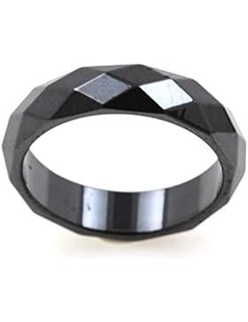 Ring Allianz Ring facettierter Hämatit 6mm–65