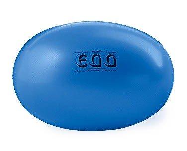 Original PEZZI Eggball MAXAFE 65 cm blau Sitzball Gymnastickball Pezziball Ball (Gymnastikball Oval)