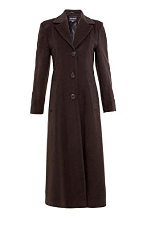 NEW* Womens Ladies Wool & Cashmere Long Plus Size Smart Coat ...
