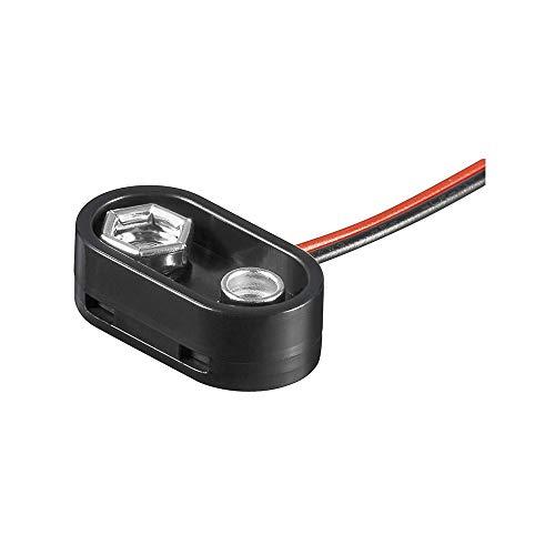 GOOBAY BH 9 V T connecteur de Fils Noir - Connecteurs de Fils (Noir, 1 pièce(s))