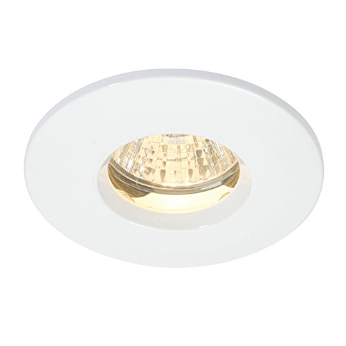 saxby-storm-fixed-down-light-50w-gloss-white-paint-clear-glass-dl805w