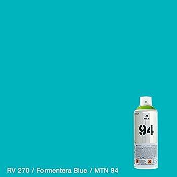 Bombe De Peinture Mtn 94 Rv 270 Bleu Formentera