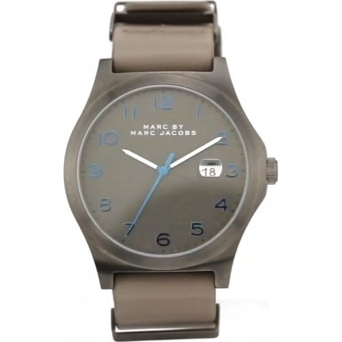 Marc by Marc Jacobs MBM5061 Mens Jimmy Grey Leather Strap Watch