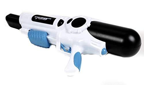 Saino Wasserpistole Cyclones Splashblasters für Kinder, Frauen und Männer, Tank Volumen 1510 ml, Druck-Handpumpe für größere Reichweite -