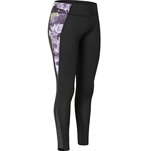 TianWlio Leggings Damen Sport Fitness Hohe Taille Yogahose mit Taschen Bauchkontrolle Trainings Hose für Frauen