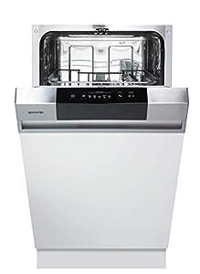 gorenje GI 52010 X Spülmaschine, edelstahl/schwarz