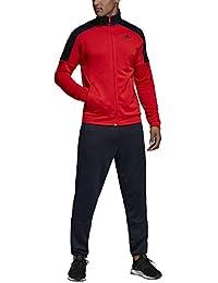e2853155cee7 adidas MTS Bos, Tuta Uomo, Active Rosso Legend Ink, M