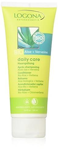 Logona - 1011aprsha - Daily Care - Soin et Beauté du Cheveu - Après-Shampooing Aloès Bio / Verveine - 100 ml