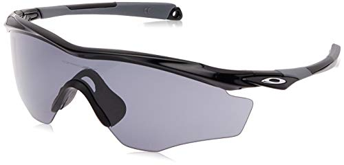 Oakley OO9343-01- M2 Frame XL Occhiali da sole, Nero lucido (Polished Black)