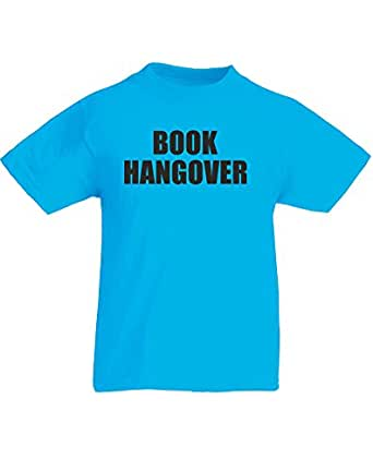 Brand88 book hangover kids printed t shirt for Books printed on t shirts