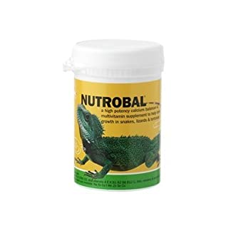 Vetark Nutrobal - a calcium balancer & multivitamin supplement to help bone growth in snakes, lizards & tortoises… 7