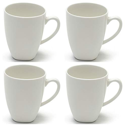 Maxwell Williams 5254495 White Basics Kaffeebecher-Set Bullet Style, Porzellan