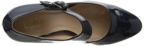 Lotus - Laurana, Scarpe col tacco Donna Blue (Navy Shiny)