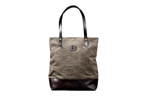 Tragetasche. Handtasche. Tasche für Frauen. Umhängetasche für Arbeit. Reisetasche (Forest green) (Leder Schwarz Lammfell Tote)
