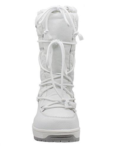 Kefas - Venus Magic 2927 - Bottes de neige Femme Blanc