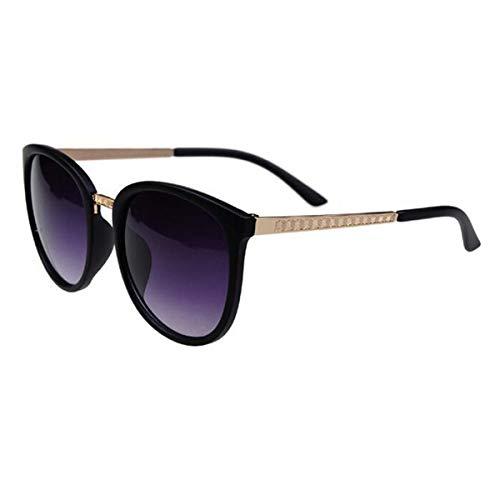 Sonnenbrillen Oversized Round Sunglasses Women Brand Designer Luxury Fashion Eyeglasses Big Shades Sun Glasses Retro BLACK Gradient GAY