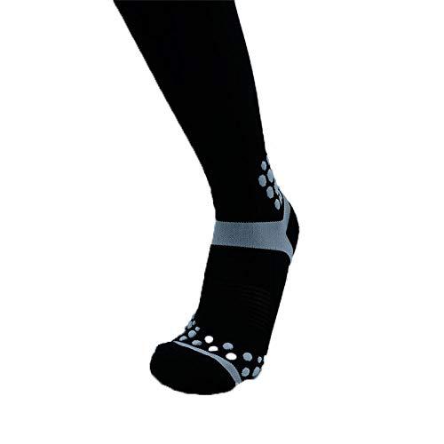 DMLL Socken Männer Und Frauen 3 Paar Kompressionssocken Krampfadern Strümpfe Krampfadern Medizinische Versorgung Geeignet Für Sportreisen Schwangerschaft Kompressionssocken Schwarz -