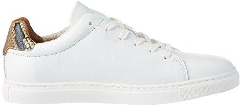 Fred De La Bretonnière Fred de la Bretoniere Sneaker Leder, chaussons d'intérieur femme Weiß (White)