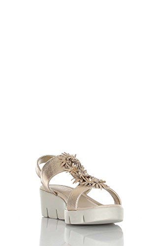 The Flexx Emma B305/16 gold-dune sandali donna zeppe oro comode Oro