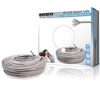 König CMP-FTP6R50 - Cable Ethernet de 50 metros, blanco (B006L268R0) | Amazon Products