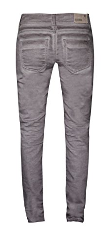 Coccara Damen Vintage Hose comfort fit braun CN236 - Brown