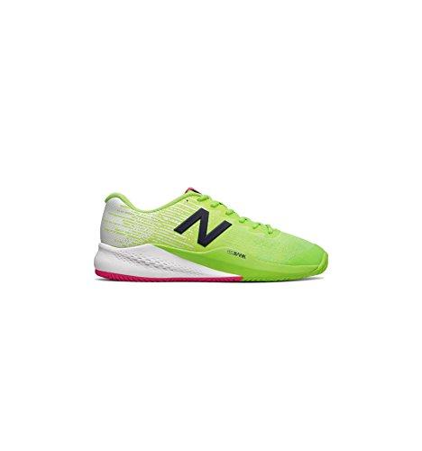 Zapatillas de tenis New Balance 96v 3 para hombre (color verde claro y blanco), color, talla 41.5 D EU
