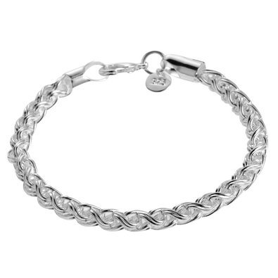 femmes-bracelet-argent-massif-style-925-classique-bijouterie-mode-pochette-velours